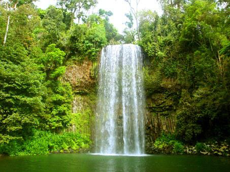 Waterfall, River, Water, Waters, Nature, National Park