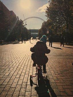 Kids, Cycling, Outdoor, Fun, Bicycle, Bike, Happy