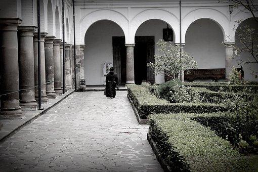 Church, Monastery, Monk, San Francisco, Quito, Religion