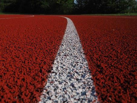 Line, Mark, Stripes, White, Tartan Track, Career