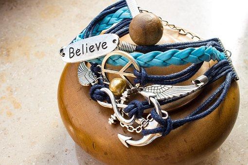 Bracelet, Jewellery, Believe, Hippie, Fashion Jewelry