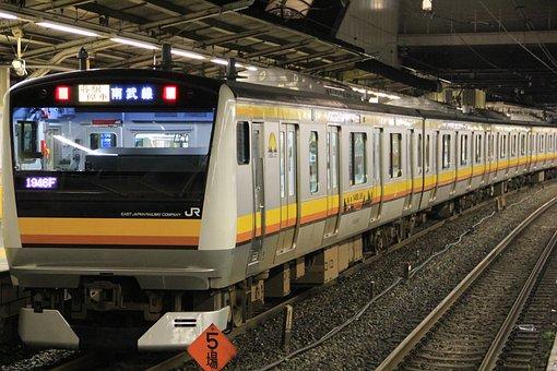 Train, Japan Railway, Japan, Railway, Transport