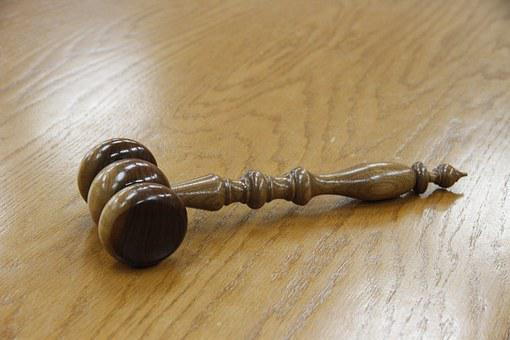 Gavel, Wood, Courtroom, Legal, Law, Justice, Court