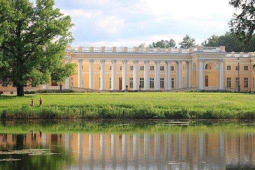 St Petersburg Russia, The Palace Ensemble Tsarskoe Selo