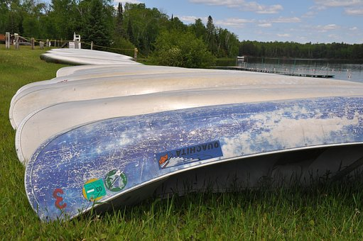 Canoe, Row, Summer, Lake, Canoeing, Adventure, Boat