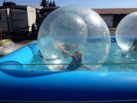 Bubble, Fair, Water, Fun, Children, Aqua Park