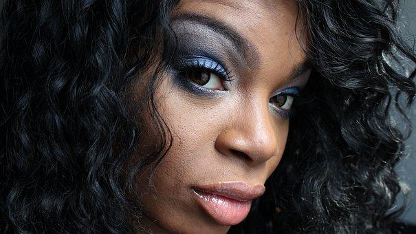 Makeup, Eyes, Eyelashes, Glamour, Cosmetics, Model