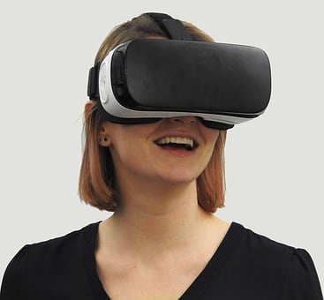 Woman, Vr, Virtual Reality, Technology, Virtual