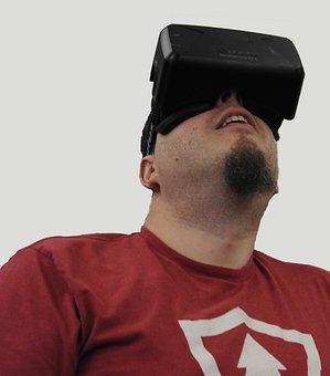 Virtual Reality, Man, Device, Technology, Vr, Headset