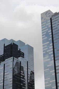 Corporate, Building, Insurance, Company, Cityscape