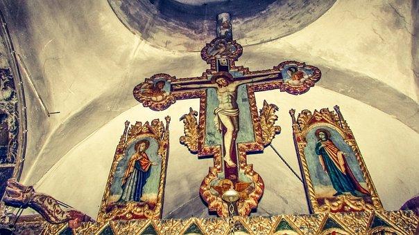 Crucifix, Woodcut, Artwork, Crucifixion, Christianity
