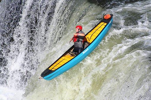 Kayaking, Extreme, Kayak, Water, Sport, Adventure