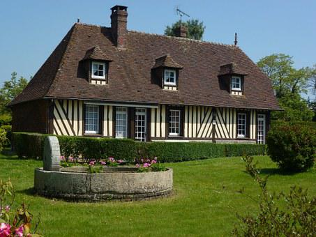 Barville, Eure, France, Farmhouse, Timber Framing