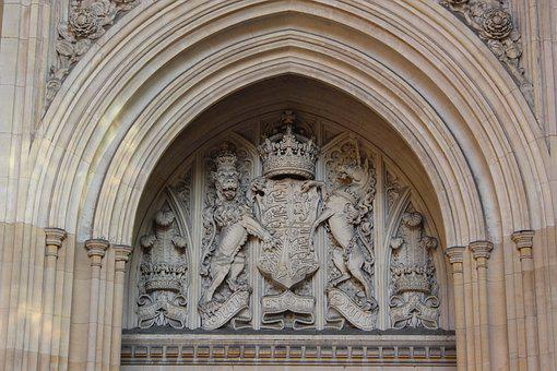 Royal, Parliament, Coat Of Arms, England, Britain, Uk