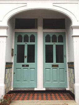 Door, Classic, Architecture, English, England, Wooden