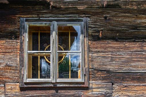 Wood, Window, Hauswand, Timber Façade, Old Window