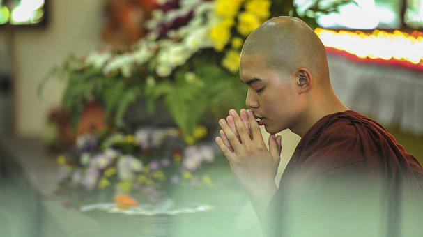 Theravada Buddhism, Homage, Blessing, Pay Respect, Re