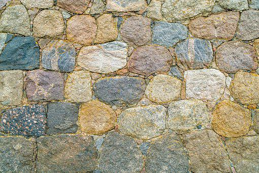 Field Stones, Natural Stones, Stone Wall, Background