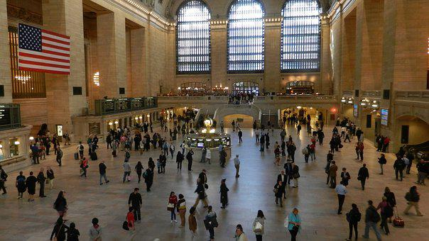 Grand Central Terminal, Station, People, United States