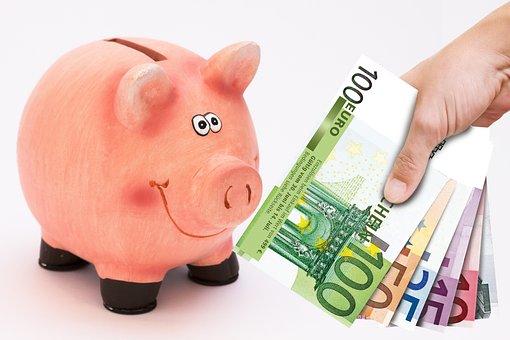 Piggy Bank, Save, Saved, Cash Injection, Money, Finance