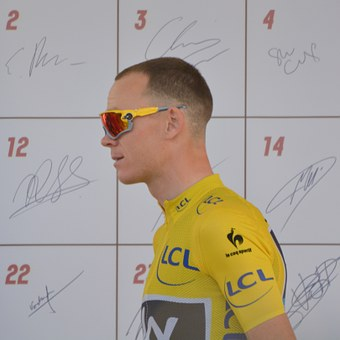 Chris Froome, Champion, Yellow Jersey, Celebrity