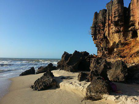 Northeast, Brazil, Beach, Nature, Holidays, Summer