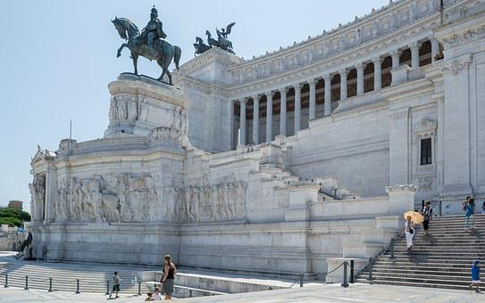 Rome, Monument To Vittorio Emanuele Ii