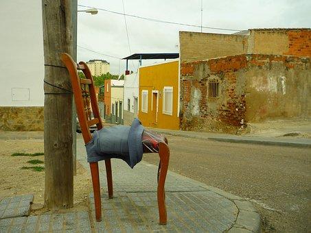 Chair, Rest, District, Worker, Furniture, Corner, Post