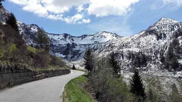 Step San Marco, Snow, Spring, The Snow, Landscape