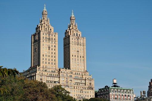 New York, Building, Central Park