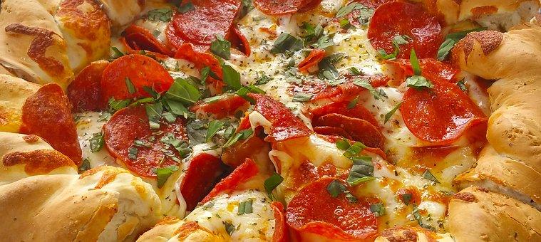 Pizza, Mountain Pie, Pepperoni, Italian, Food, Cheese