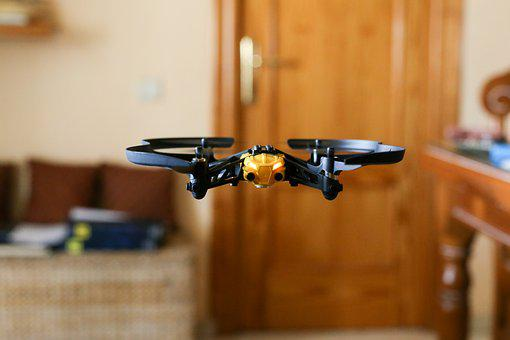 Drones, Small, Quadcopter, Toy, Remote, Hand, Takeoff