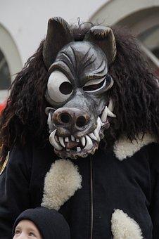 Dog, Wolf, Brühl Dog, Tiermaske, Dangerous, Daemon
