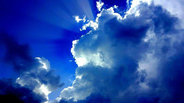 Sky, Sun, Clouds, Nature, Summer, Blue, Natural, Yellow
