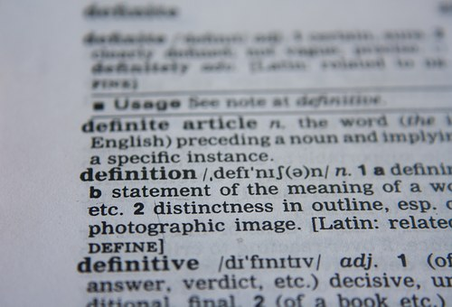 Definition, Word, Dictionary, Text, Page, Book, Paper