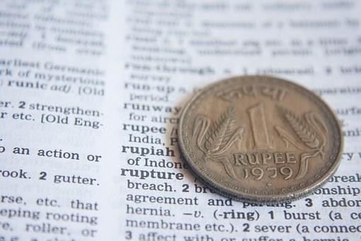 Indian, Rupee, Dictionary, Definition, Word, Coin