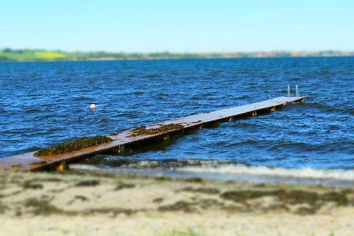 Baltic Sea, Denmark, Small Belt, Coast, Water, Sea View