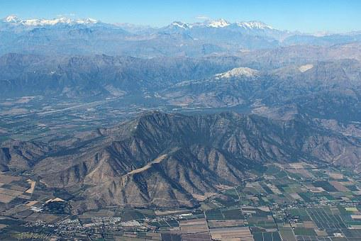 Chile, Mountains, Andes, South America, Nature