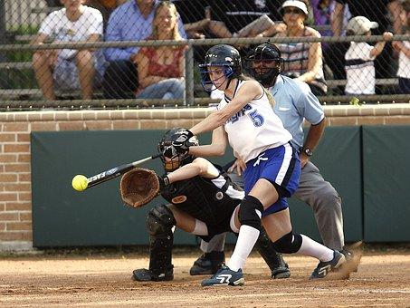 Softball, Girls Softball, Catcher, Catcher's Mitt