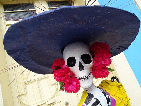 Day Of The Dead, Catrina, Mexico, Tradition