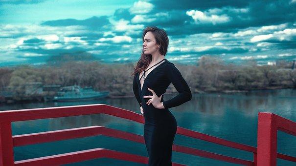 A Slim Body, Girl, Dress, Cover, Slimness, Slim, Model