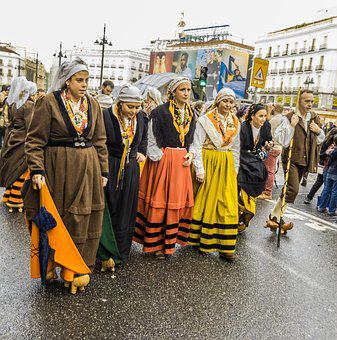 Folklore, Folk, Regional, Rural, Transhumance, People