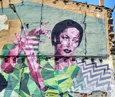 Wall, Street Art, Painted, Look, Indigent, Pictures