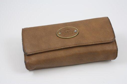 Wallet, Pouch, Billfold, Pocketbook, Purse, Shopping