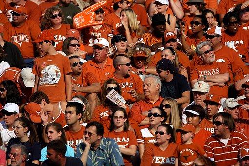Sports Fans, Spectators, Crowd, People, Stadium