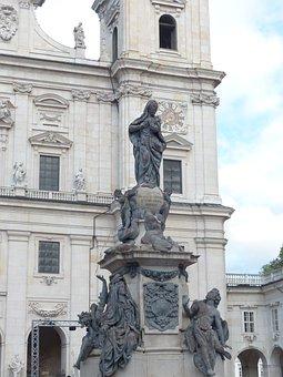 Marian Column, Pillar, Fig, Wolfgang Hagenauer