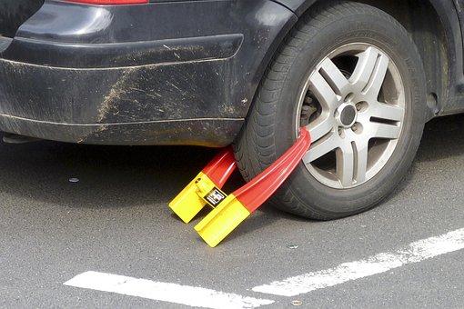 Immobilizer, Wheel Claw, Car Claw, Park's Claw
