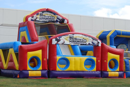 Inflatable Obstacle Course, Umc Obstacle Course