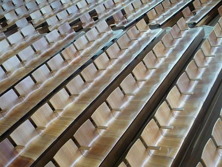 Chairs, Seats, Seating, Lecture, Interior, Row Seating
