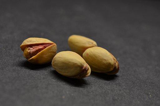 Pistachios, Nuts, Food, Snack, Seeds, Ingredients